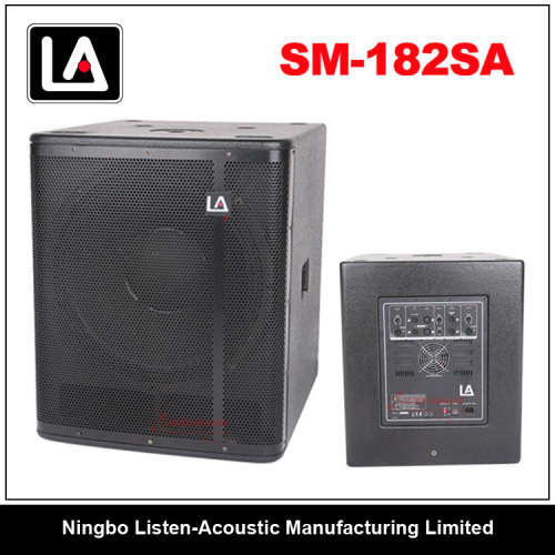 High quality 18inch wooden cabinet subwoofer 2.1system