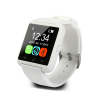 White lady smart watch support samsung iphone and other smart phone
