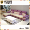 Purple sofa fabric sofa