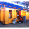 electrostatic powder coating chamber