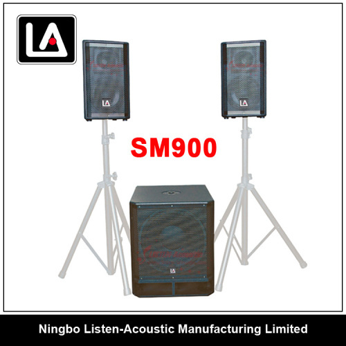 2.1 Combo PA Sound System with Analog Amplifier