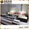 Morden velvet sofa furniture fabric sofa