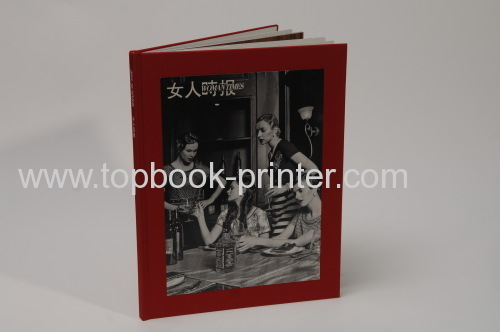 Standard B5 cloth&art paper greyboard cover silver stamping hardcover or hardback book printing or binding on demands