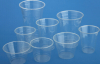transparent plastic cups with lids PET Transparent Cup