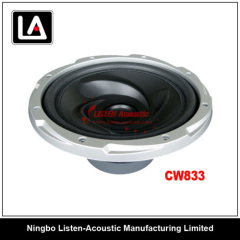 8 inch size popular auto speakers woofer CW 833