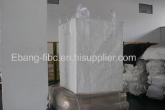 breathable FIBC bag packaging animal feed supplier for transport