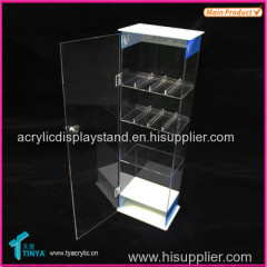 Supplier High Quality E cigarette Counter Display E liquid E juice Bottles Display Stand Acrylic Cigarette Display Case
