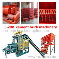 India Cement Brick Making Machinery seller
