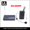 VHF Wireless Headset Microphone SH - 200HP