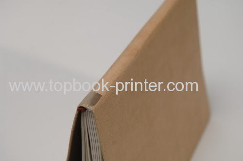 Print or design gold stamped specialty paper or linen cloth cover hardbound books online