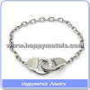 Steel handcuffs Jewelry bracelet