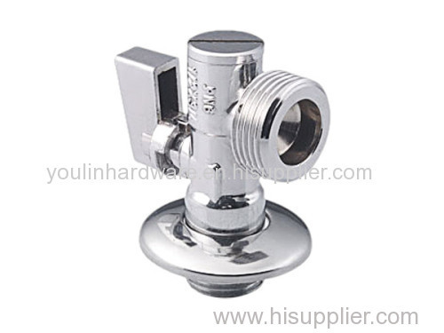 Toilet angle valve fittings