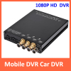 HD 1080P H.264 CCTV Mobile Vehicle DVR SD card recorder 4 channel support GPS