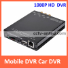 HD 1080P H.264 CCTV Mobile Car DVR SD card recorder 4 channel support GPS