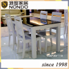 Morden tempered glass dining table
