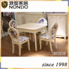 Morden dining table and chairs