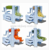 Plastic Spiral Vegetable Slicer 3 in 1 Manual Vegetable Slicer Fruit Slicer Machine