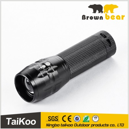 q5 led aluminum telescopic zoom multi functional flashlight