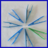 disposable medical plastic tweezer