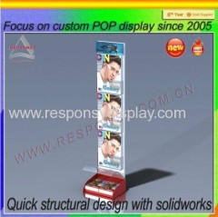 2015 Newest design free standing literature/card display stands