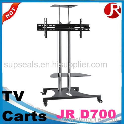 TV Stand TV Cart / Plasma LCD TV Trolley Stand / Mobile TV Stand with Wheels