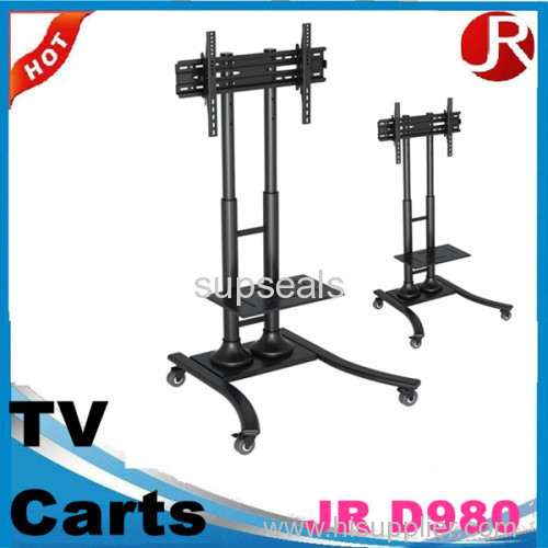 Movable LCD TV Cart VESA Measures 480 x 400mm Can Hold 32-65