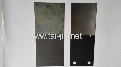 Ru-Ir Titanium Anodes for Ballast Water Treatment of the Large Ship
