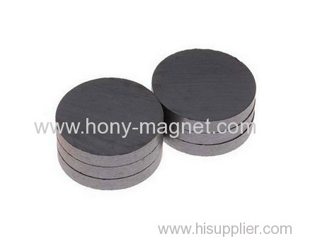 Injection Ferrite Magnet Disc Of Air Conditioning Motors