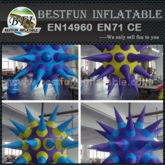 Amazing decoration illuminated inflatable stars for event