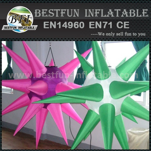 Durable Star Shape Party Decoration Inflatable Led