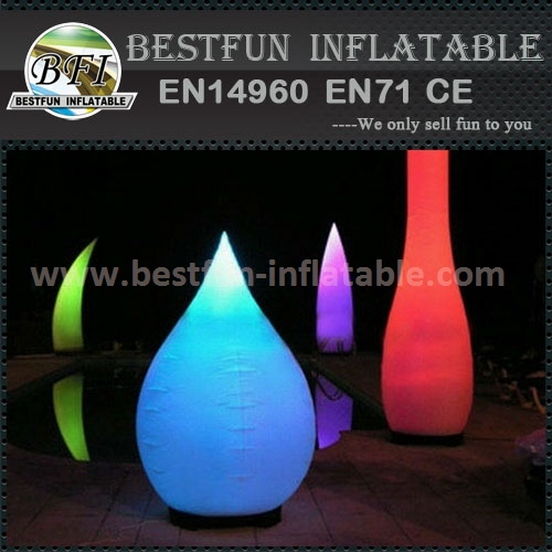 Factory direct inflatable Pillar inflatable led Bowling