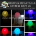 Fashion inflatable stand led balloon light