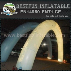 Inflatable changeable LED light arch for wedding decoration