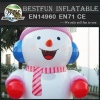 Inflatable snowman model for advertising promotion