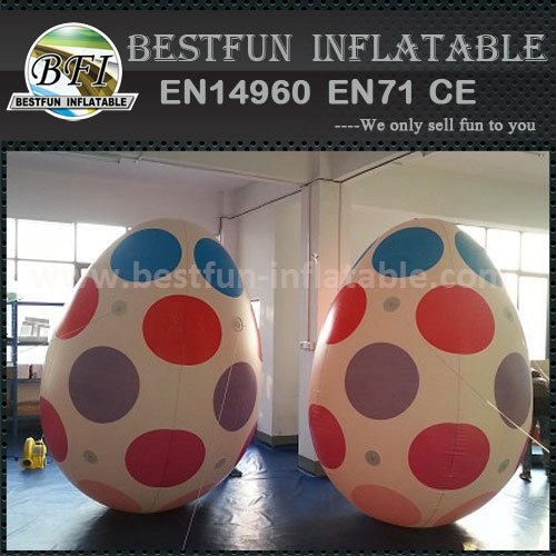 Large pvc easter egg outdoor inflatable decoration for advertising