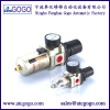 pneumatic air filter pressure regulator high quality smc type 1/4 1/2 with pressure guage copper filter cartridge