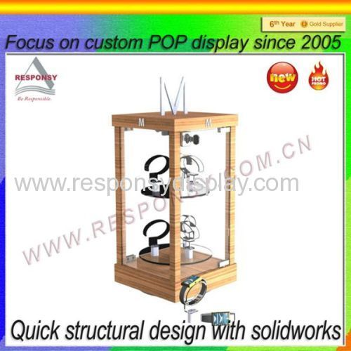 2015 new design Desktop/ Countertop C Clip Watch Display Stand