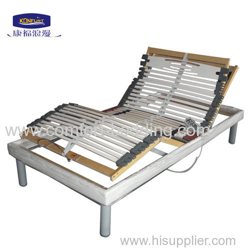 Slat adjustable bed