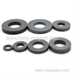 Speaker Part Radial Ferrite Magnezation Ring Magnet