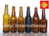 Amber Glass Beer Bottles