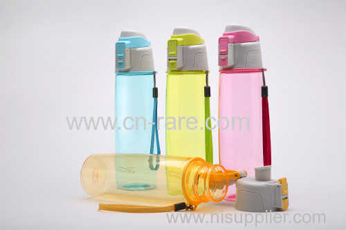 Sports plastic water cup large outdoor water bottle