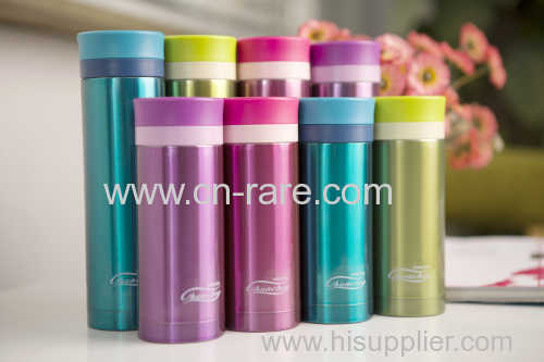 Chromophous leak-proof stainless steel colorful cup vacuum cup vacuum portable tea cup retinue cup