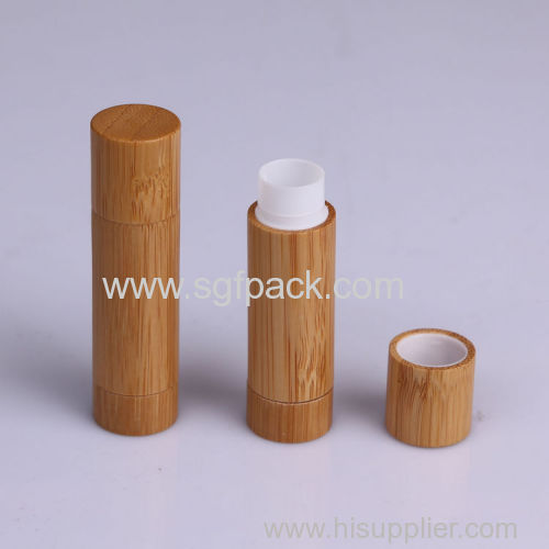 empty cosmetic container bamboo lipgloss/mascare/eyeliner bottle/lipstick tube make up packaging