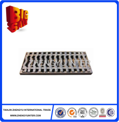 Building material ductile cast iron trench drain grates for construction