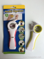 New 5 in 1 Can opener wall mount bottle opener