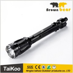 t6 1600lm high power police led torch light