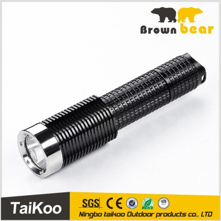 aluminum zoomable highlight led torch