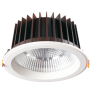 25W recessed LED downlight with Epistar COB LEDs