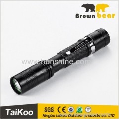 xpe led flexible torch with clip
