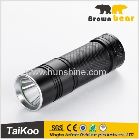 2014 new type hot sale aluminum XPE/T6 LED highlight torch flashlight